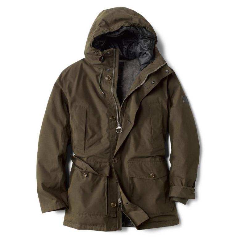 Barbour® Arctic Parka Jacket - OLIVE image number 0