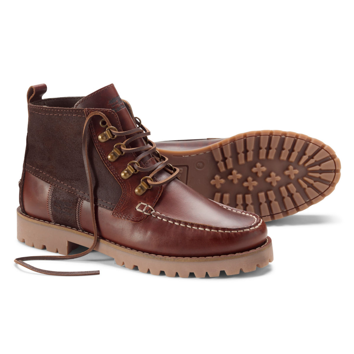 Barbour® Topsail Boots - MAHOGANYimage number 0
