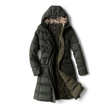 Orvis-Exclusive Barbour® Cranleigh Quilted Parka - OLIVE image number 1