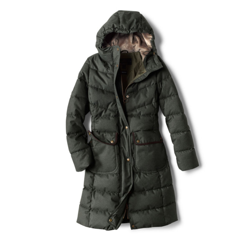 Orvis-Exclusive Barbour® Cranleigh Quilted Parka - OLIVE image number 0