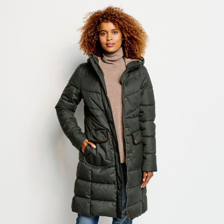 Orvis-Exclusive Barbour® Cranleigh Quilted Parka - OLIVE image number 3
