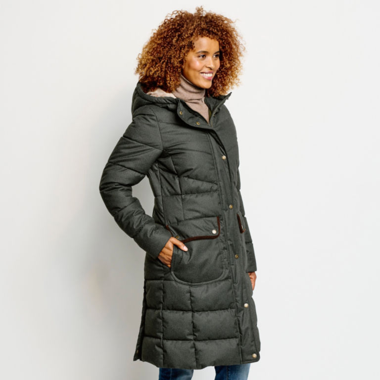 Orvis-Exclusive Barbour® Cranleigh Quilted Parka - OLIVE image number 4