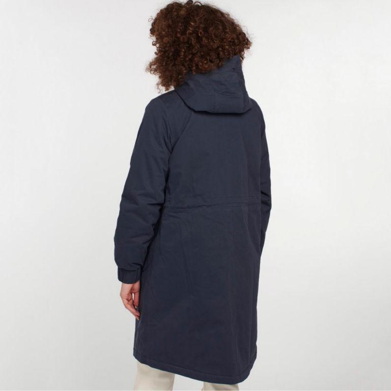 Barbour® Hauxley Hooded Raincoat - NAVY image number 1