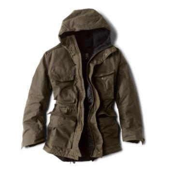 Barbour® Nautic Wax Jacket - FERN image number 1