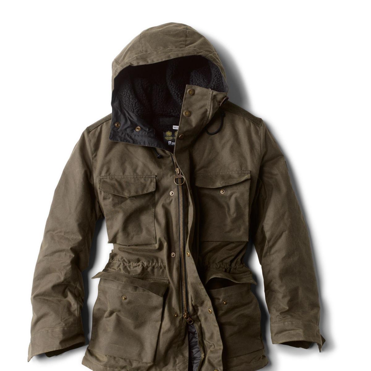 Barbour® Nautic Wax Jacket - FERNimage number 0