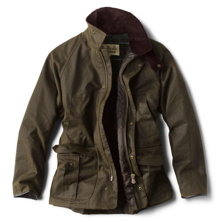 Barbour® Stratford Wax Jacket - OLIVE image number 1