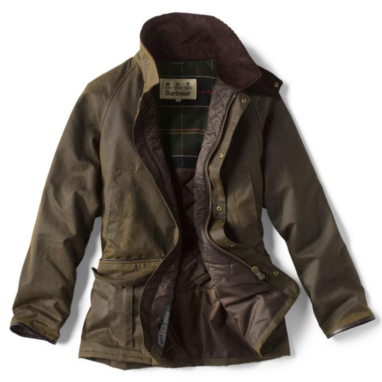 Barbour® Stratford Wax Jacket - OLIVE image number 2