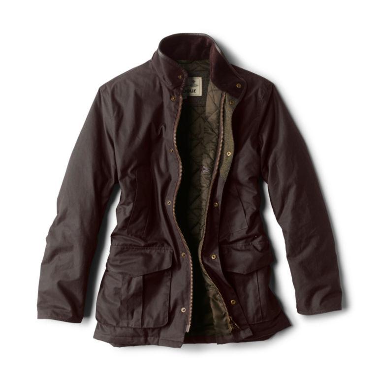 Barbour® Hereford Wax Jacket - RUSTIC image number 1