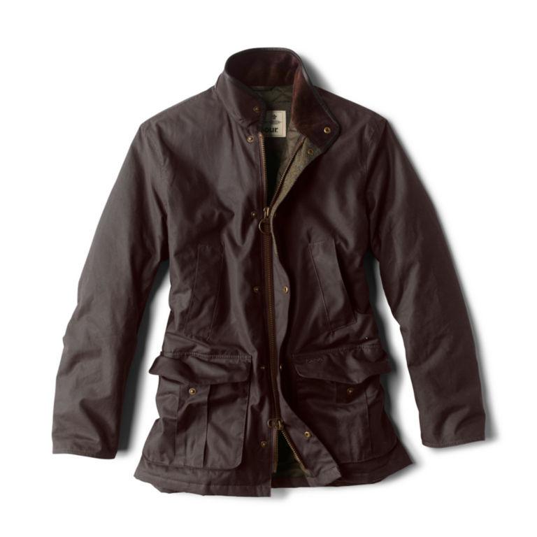 Barbour® Hereford Wax Jacket - RUSTIC image number 0
