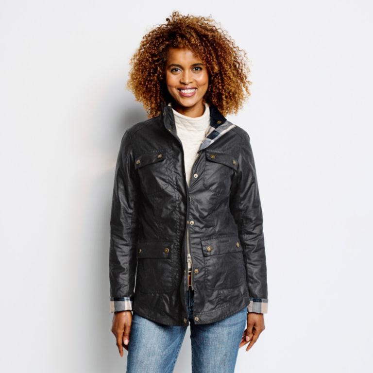Orvis-Exclusive Barbour® Cheviot Wax Jacket - NAVY image number 4
