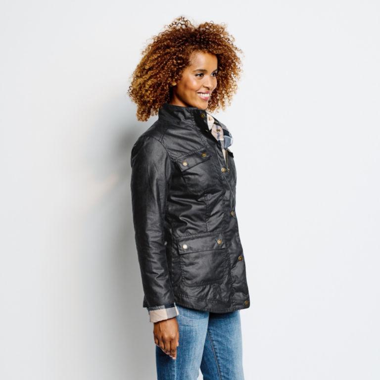 Orvis-Exclusive Barbour® Cheviot Wax Jacket - NAVY image number 5