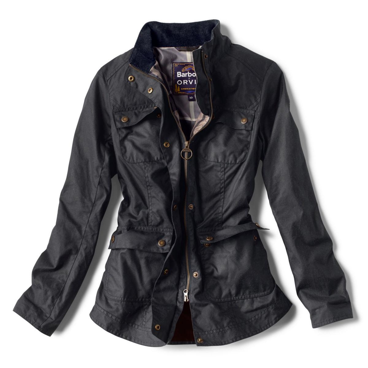 Orvis-Exclusive Barbour® Cheviot Wax Jacket - NAVYimage number 0