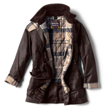 Orvis-Exclusive Barbour® Bilbury Waxed Jacket - RUSTIC image number 1