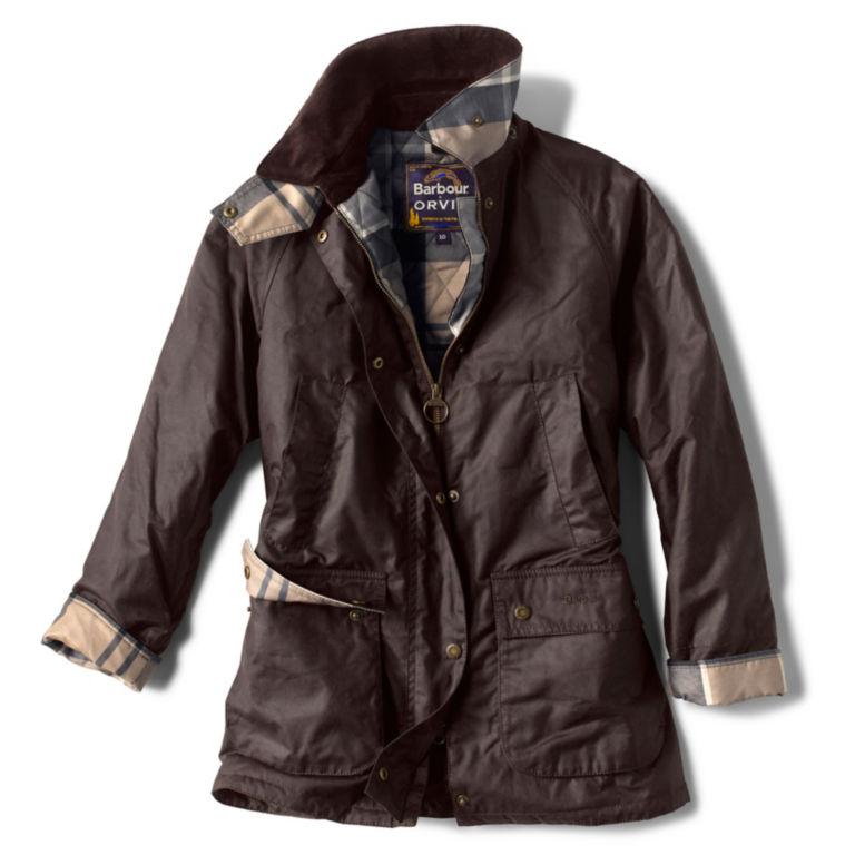Orvis-Exclusive Barbour® Bilbury Waxed Jacket - RUSTIC image number 0