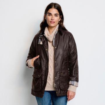 Orvis-Exclusive Barbour® Bilbury Waxed Jacket - RUSTIC image number 4