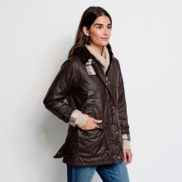 Orvis-Exclusive Barbour® Bilbury Waxed Jacket - RUSTIC image number 5