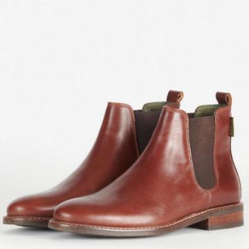 Orvis-Exclusive Barbour® Foxton Chelsea Boots - COGNAC image number 2