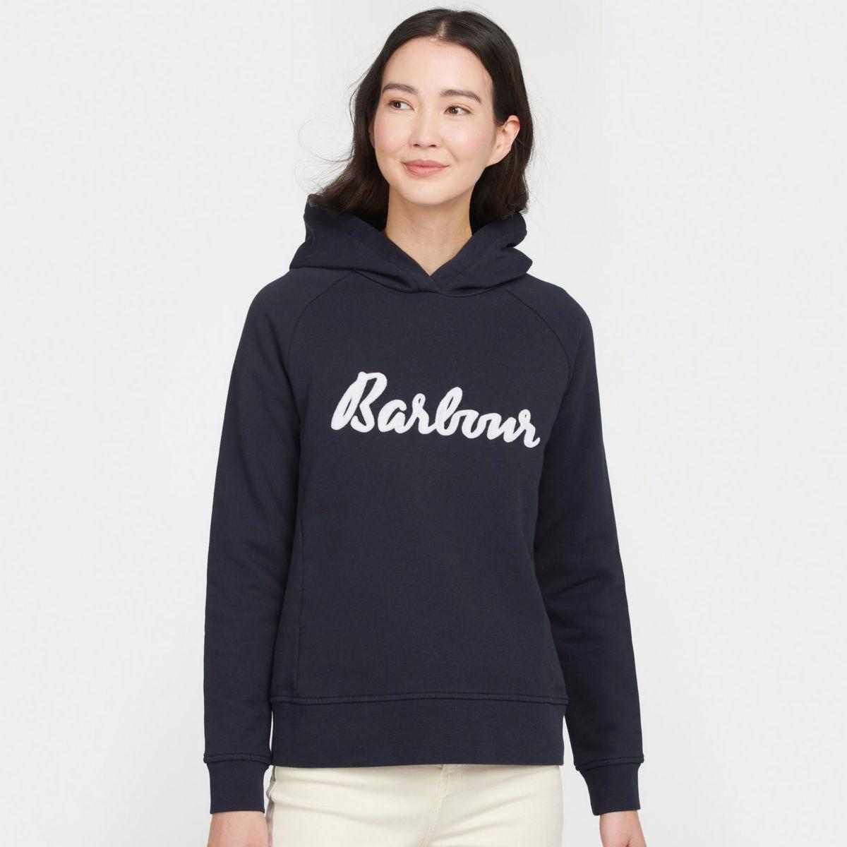 Barbour® Otterburn Hoodie - NAVYimage number 0