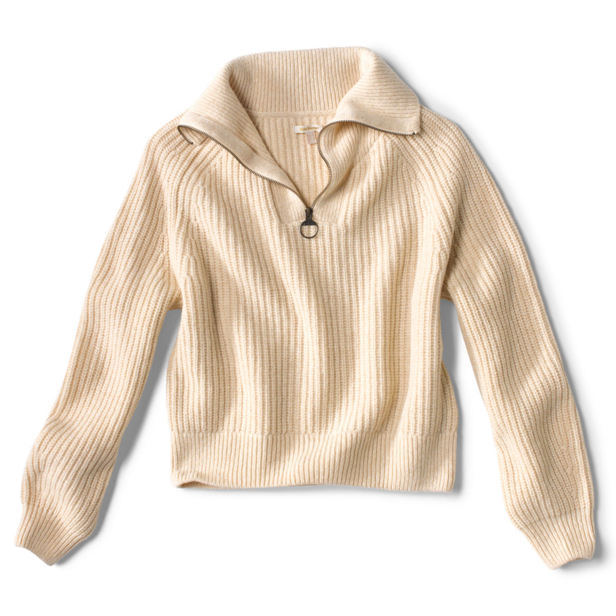 Barbour® Stanton Knit Sweater - OATMEALimage number 0