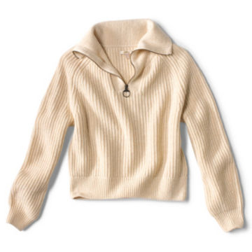 Barbour® Stanton Knit Sweater - OATMEAL image number 0