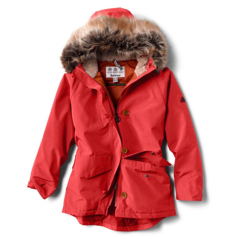 Barbour® Warkworth Faux Fur Hooded Jacket -  image number 0