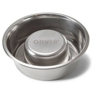 Stainless Steel Slow Feeder Bowl -  image number 0
