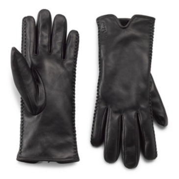Heritage Hills Faux Shearling-Lined Leather Gloves -