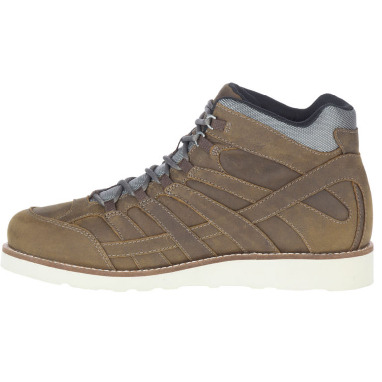 Merrell® Moab 2 Mid Craft Boots - BOULDER image number 0
