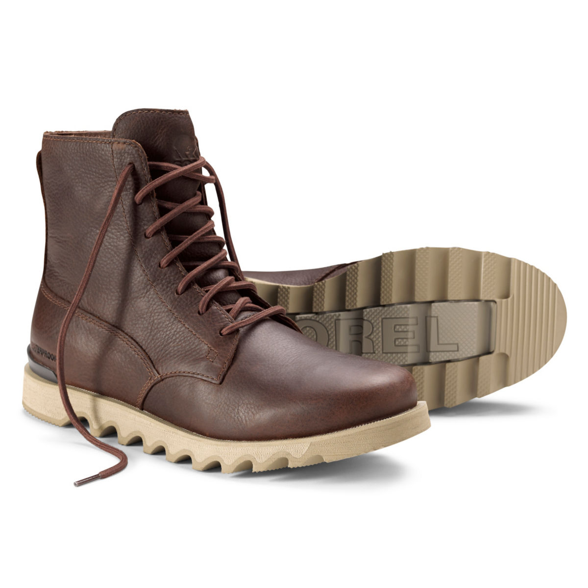 Sorel® Kezar Tall Waterproof Boots - DARK BROWNimage number 0