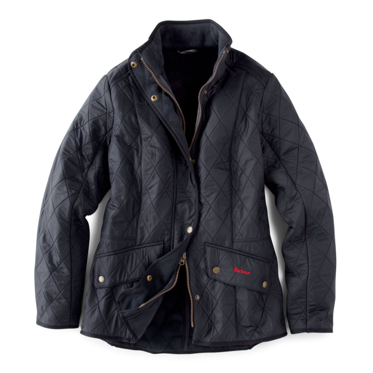 Barbour® Cavalry Polarquilt Jacket - BLACKimage number 0