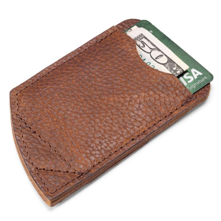Bison Leather Card Carrier -  image number 0