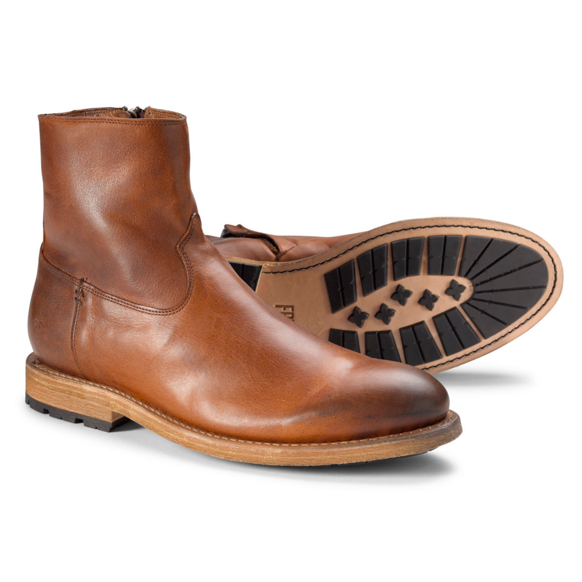 Frye® Bowery Inside Zip Boots - TANimage number 0