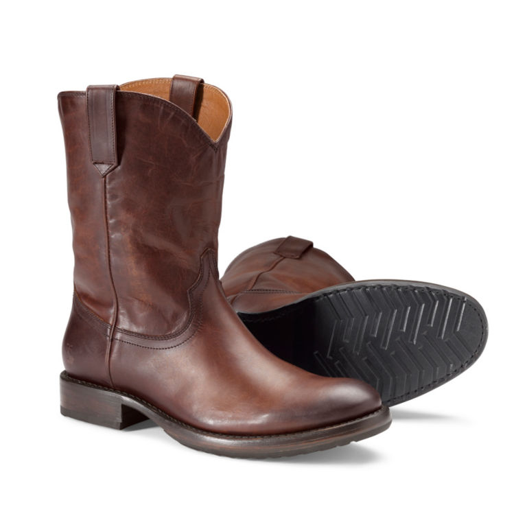 Frye® Duke Roper Boots - DARK BROWN image number 0