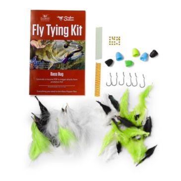 Surface Seducer Double Barrel Bass Bug Fly-Tying Kit -