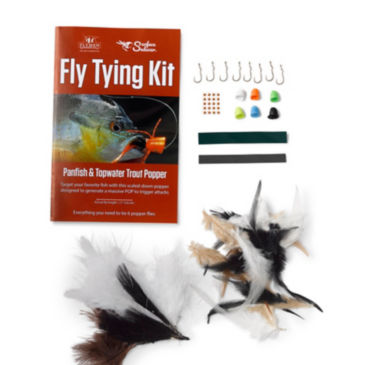 Surface Seducer Panfish & Topwater Trout Popper Fly-Tying Kit -