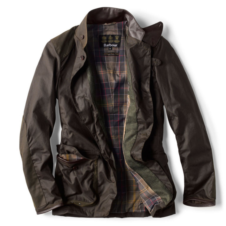 Barbour® Beacon Sports Jacket - OLIVE image number 1