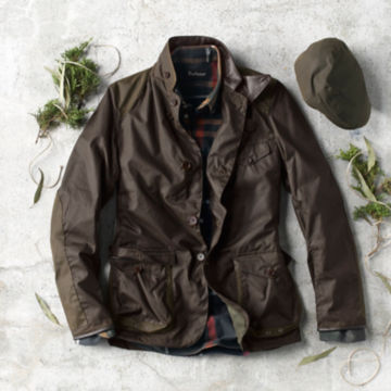 Barbour® Beacon Sports Jacket - OLIVE image number 3