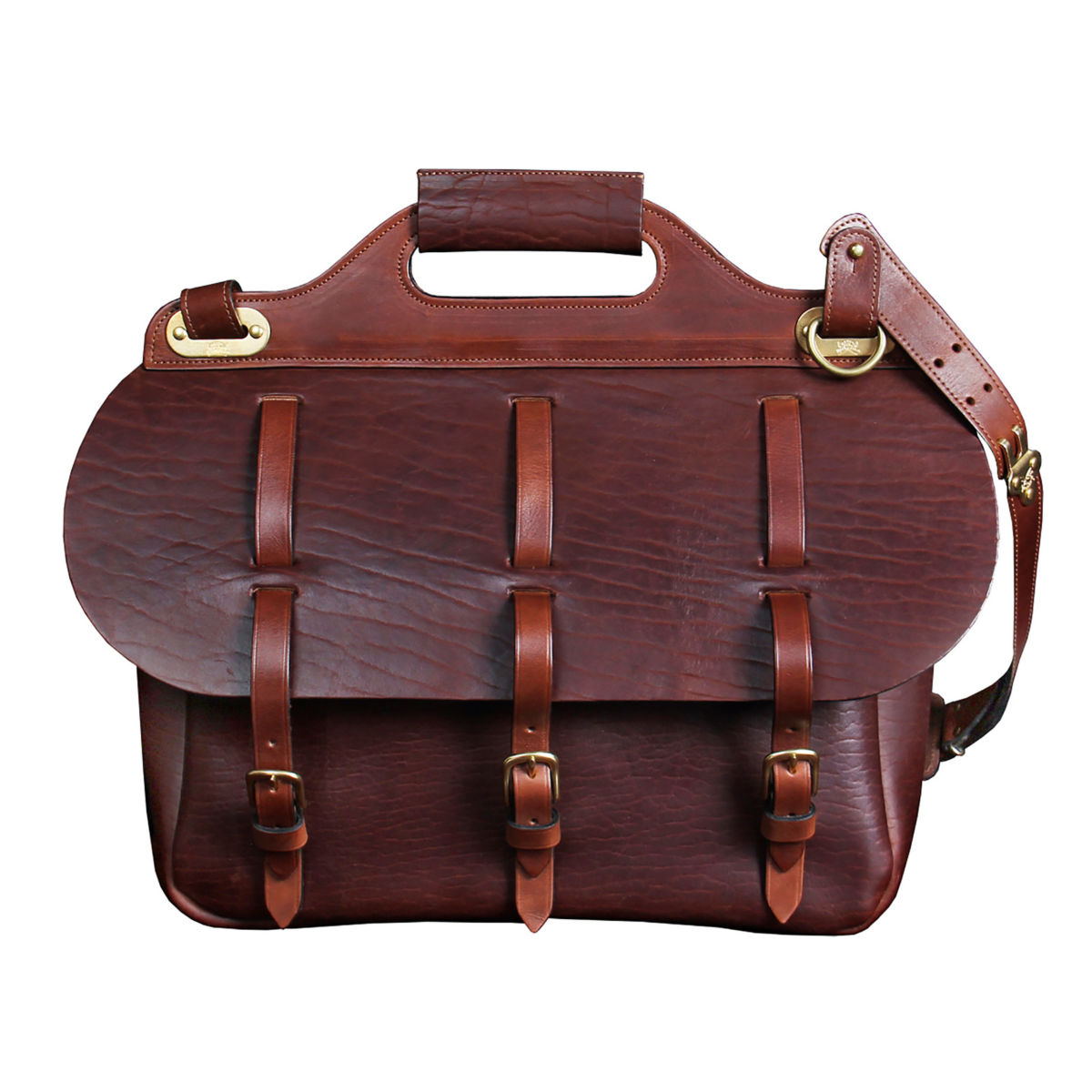 No. 1 Saddlebag Briefcase - BUFFALOimage number 0