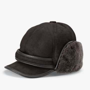 Shearling Winter Ball Cap -  image number 0