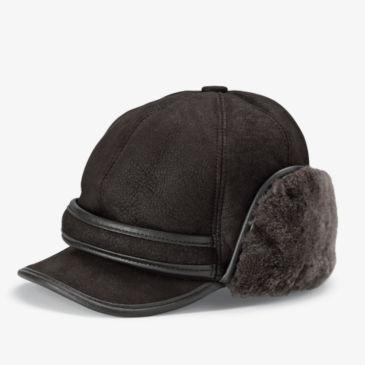 Shearling Winter Ball Cap -