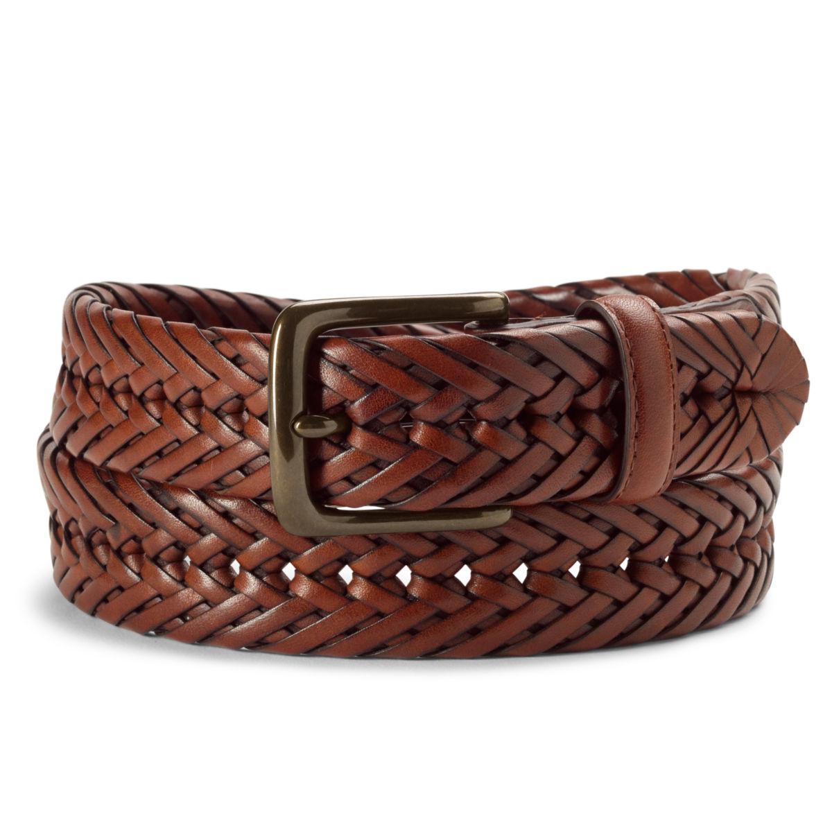Braided Latigo Leather Belt - image number 0