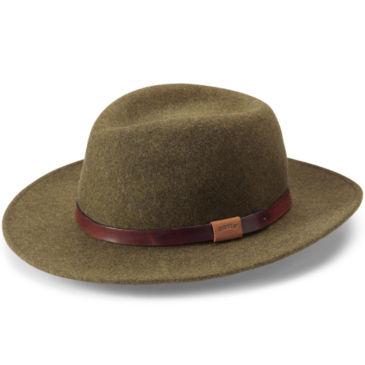 Heathered-Felt Hat -