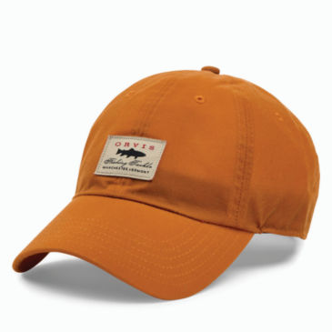 Vintage Waxed-Cotton Ball Cap -