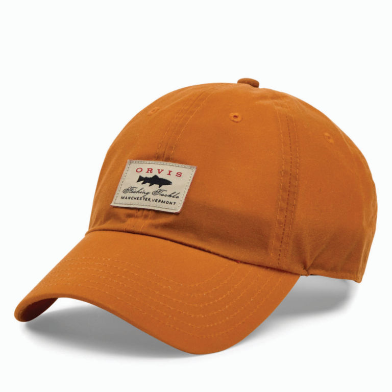 Vintage Waxed-Cotton Ball Cap -  image number 0