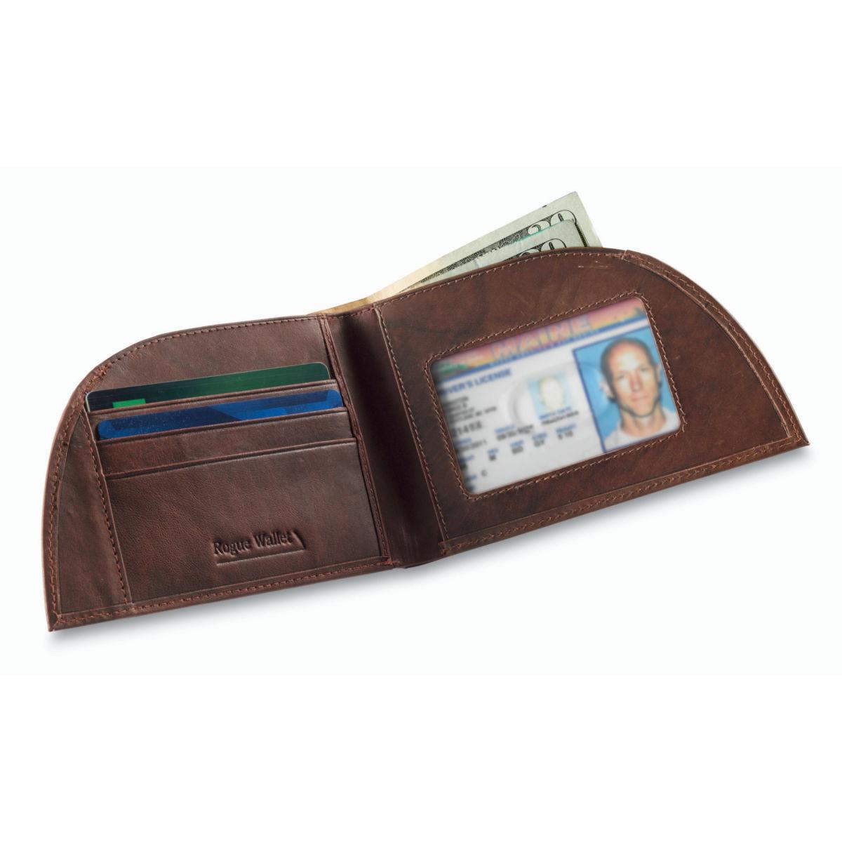 Leather Front-Pocket Wallet - BROWNimage number 0
