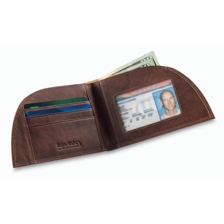 Leather Front-Pocket Wallet - BROWN image number 0