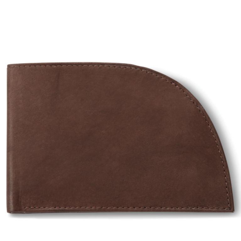 Leather Front-Pocket Wallet - BROWN image number 1