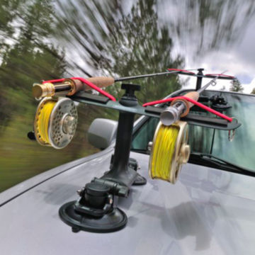 Sumo Car-Top Rod Rack / Suction Cup -  image number 0