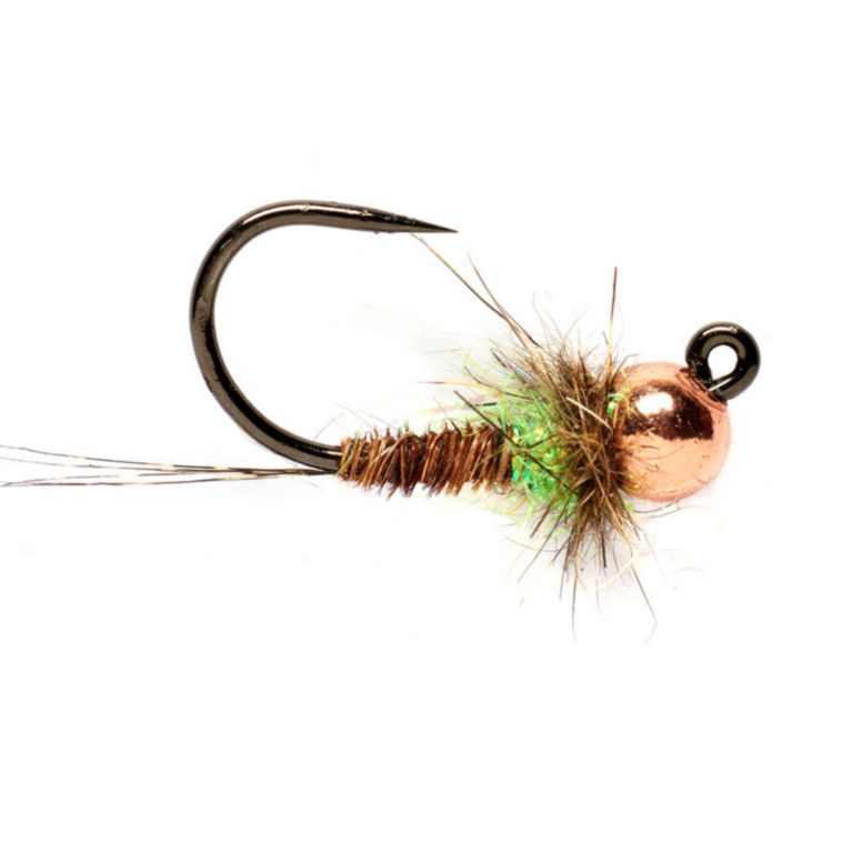Tunghead Hot Spot Pheasant Tail Jig -  image number 0