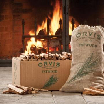 Orvis Fatwood - 15-lb. Burlap Sack -  image number 1